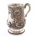 Halbă din argint sterling spendid decorată și stilizată în manieră Neorococo   atelier  Tacchi & Loprieno   cca. 1968