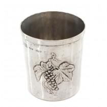 Pahar din argint pentru copii & servirea băuturilor spirtoase | manufactură de atelier Brandimarte | Italia cca.1970