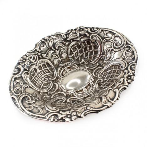 Bol din argint pentru delicatese rafinat elaborat în stil NeoRococo | Spania cca.1940