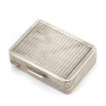 Cutiuță din argint pentru medicamente | Italia cca. 1950