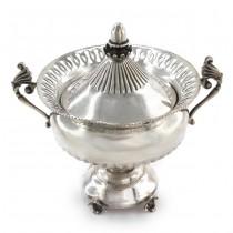 Zaharniță din argint elaborată în stil de inspirație neoclasică | Italia cca.1950
