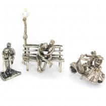Colecție de miniaturi din argint: Simboluri romantice | Love Story