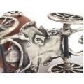 Miniatură din argint: Caleașca Cenușăresei