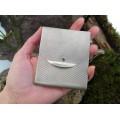 Etui din argint pentru cărți de vizită , carduri bancare sau țigarete | atelier Ridi Alfredo | Florența - Italia cca. 1960