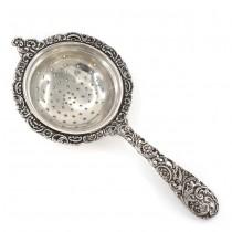 Strecurătoare din argint pentru ceai | atelier Faccioli | cca. 1950