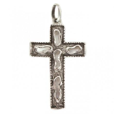 Inedit pandant religios modernist din argint | Statele Unite cca. 1960 -1970