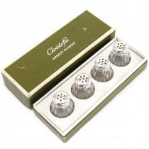 Set de solnițe din argint & cristal | atelier Christofle - Paris | cca. 1950 -1960