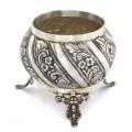 Vechi bol din argint pentru mirodenii | manufactură de atelier tunisian | cca.1920