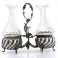 Olivieră din argint 950 splendid elaborată în stil Art Nouveau | atelier Charles Folliot | Franța cca. 1900 - 1910