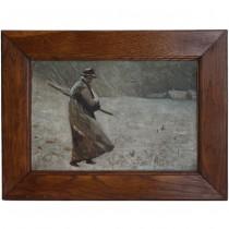 Pictură Ion Stoica Dumitrescu | Dezertorul |  ulei pe pânză | cca. 1917