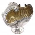 Centru de masă din argint inedit elaborat în manieră Nautilus și ornamentat în stil NeoRococo | atelier Hanau | cca. 1900