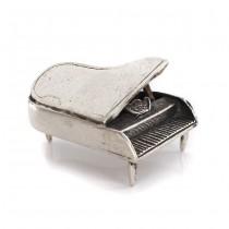 Miniatură din argint elaborată sub forma unui pian | Italia cca. 1950