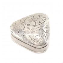 Cutiuță din argint pentru medicamnete sau creme | Victorian Revival | Marea Britanie