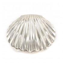 Cutiuță din argint stilizată sub forma unei scoici Saint Jacques | atelier Casamonti Fulvio | Firenze - cca.1970