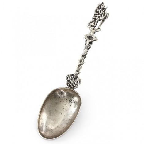 RAR : Lingură din argint - suvenir de nuntă datând din anul 1798 | William & Mary | atelier olandez -Frisia