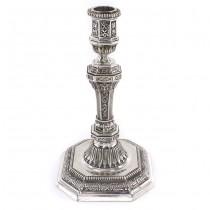 Sfeșnic Christofle elegant elaborat în stil  Louis XIV | model Duperier | atelier Christofle - Paris  | Franța cca.1960