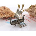 Miniatură din argint Galion Viking | Italia
