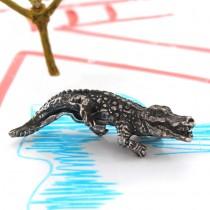 Miniatură crocodil din argint | Italia