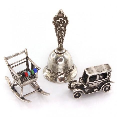 Colecție de miniaturi din argint - simboluri ale maternității și prunciei | It's a Boy !