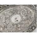 Veche casetă chinezească pentru bijuterii | manufactură în argint | cca. 1880 - 1920