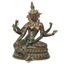 RAR : statueta bronz VASUDHARA cca 1850. Nepal