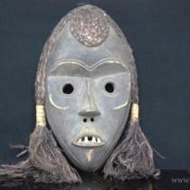 veche masca africana Dan. Glen Mu . Costa de Fildes