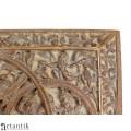 Casetă pentru bijuterii sau țigarete | VISNU |  lemn de santal - Bristish Raj