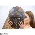 Mască ceremonială Ekpo Nyoho |  triburile Eket  | Nigeria